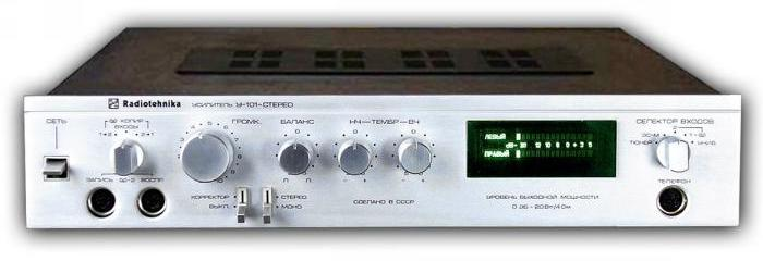 радиотехника у-101-стерео